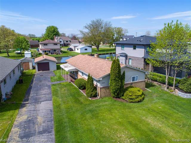 39601 Lakeshore Drive, Harrison Twp, MI 48045 (#2200094229) :: The Alex Nugent Team | Real Estate One