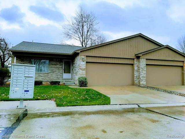 41530 Clinton Grove Drive #122, Clinton Twp, MI 48038 (#2200094239) :: Robert E Smith Realty