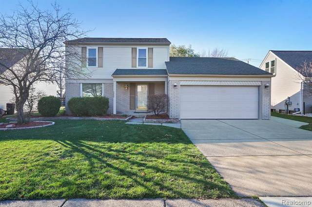 45425 Margate Drive, Macomb Twp, MI 48044 (#2200094548) :: The Alex Nugent Team | Real Estate One
