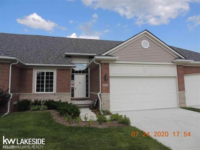 14924 Village Park Circle Unit # 75, Shelby Twp, MI 48315 (#58050029193) :: The Alex Nugent Team | Real Estate One
