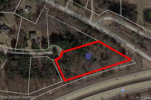 Lot 128 Pine Meadow Court, Independence Twp, MI 48348 (#2200095100) :: The BK Agency