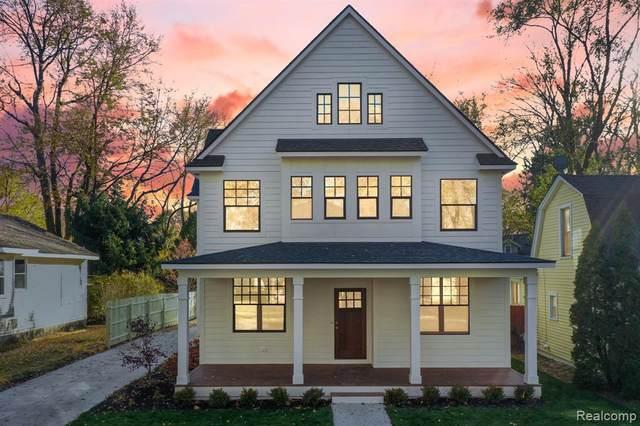 336 E Kenilworth Avenue, Royal Oak, MI 48067 (#2200095192) :: The Alex Nugent Team | Real Estate One