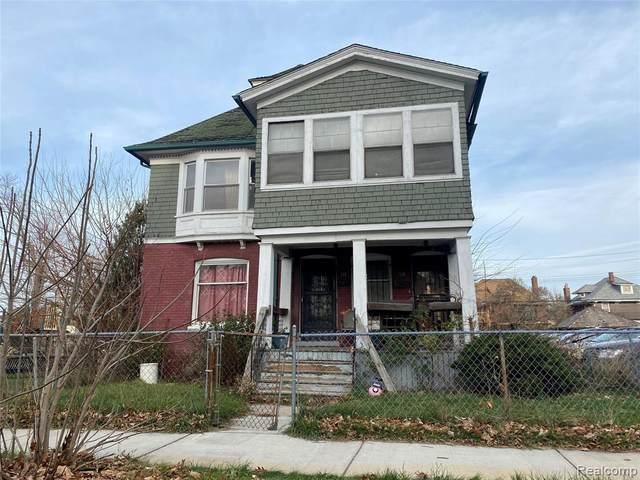 718 Hazelwood Street, Detroit, MI 48202 (#2200095663) :: GK Real Estate Team