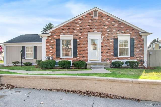 1366 Crescent Lane, Rochester Hills, MI 48306 (#2200095710) :: The Alex Nugent Team   Real Estate One