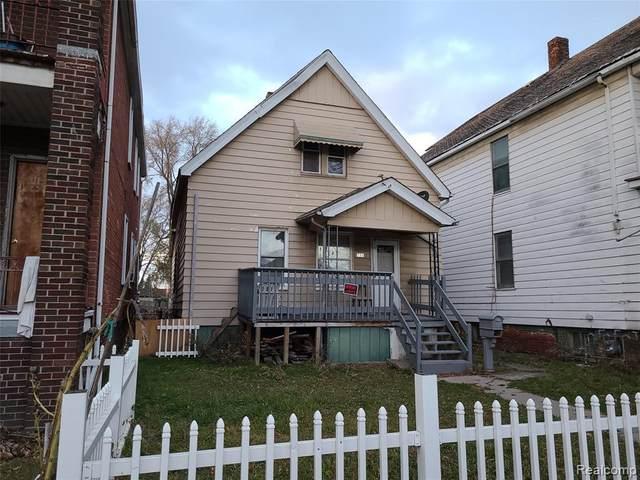 7320 Saint John Street, Detroit, MI 48210 (#2200095720) :: The Mulvihill Group