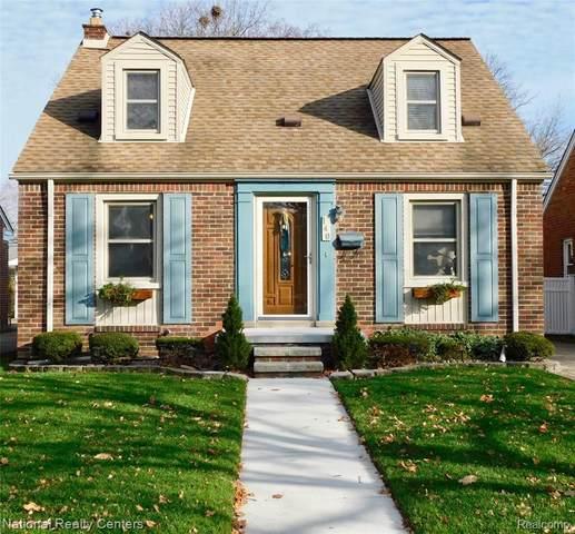 140 Nightingale St, Dearborn, MI 48128 (#2200095735) :: The Alex Nugent Team | Real Estate One