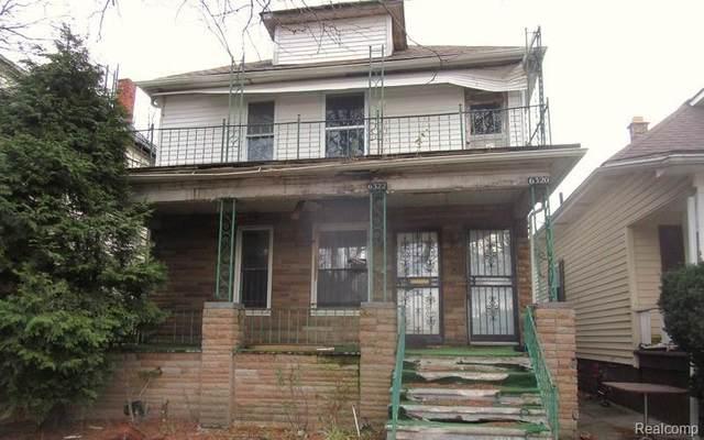 6320 & 6322 Northfield Street, Detroit, MI 48210 (#2200095991) :: The Mulvihill Group