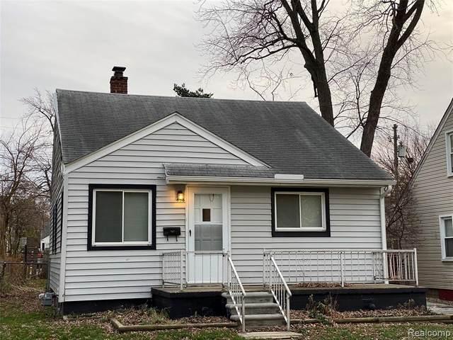 658 Lebaron Avenue, Pontiac, MI 48340 (#2200096018) :: The Alex Nugent Team | Real Estate One