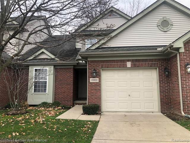 25920 Ashby Drive, Harrison Twp, MI 48045 (#2200096163) :: The Mulvihill Group