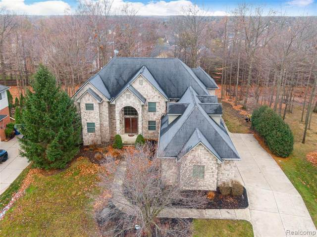 4587 Hawk Woods Drive, West Bloomfield Twp, MI 48322 (#2200096176) :: The Alex Nugent Team   Real Estate One