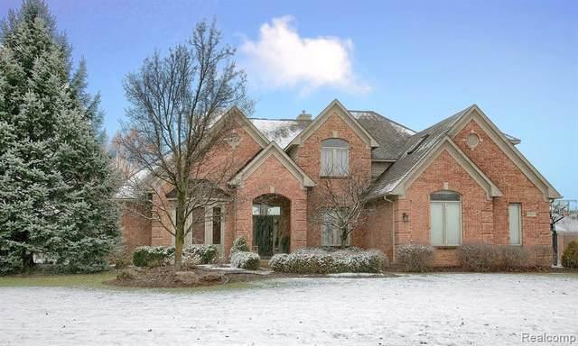 22217 Hillside Drive, Novi, MI 48167 (#2200096370) :: The Alex Nugent Team | Real Estate One