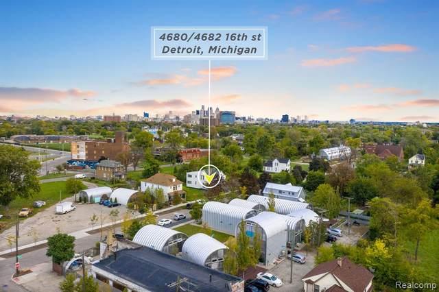 4680 16TH Street, Detroit, MI 48208 (#2200096392) :: The Mulvihill Group