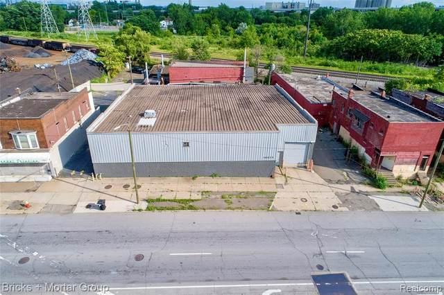 10023 W Fort Street, Detroit, MI 48209 (#2200096462) :: The Mulvihill Group