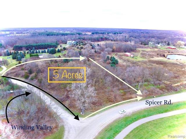 0 Winding Valley Road, Green Oak Twp, MI 48116 (#2200096511) :: Keller Williams West Bloomfield