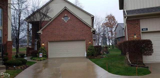 4111 Winter Drive, Shelby Twp, MI 48316 (#58050029696) :: Robert E Smith Realty