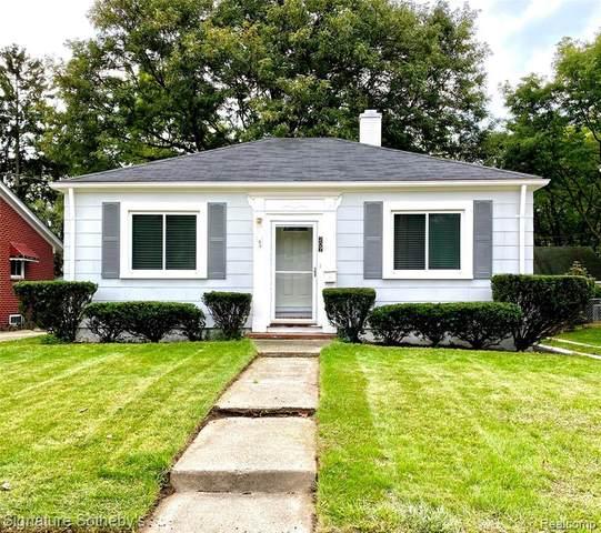 207 W 13 Mile Road, Royal Oak, MI 48073 (#2200096598) :: Duneske Real Estate Advisors