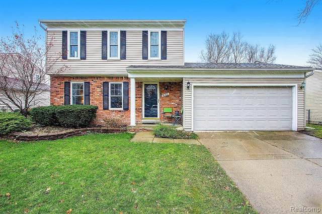 16321 Touraine Drive, Clinton Twp, MI 48038 (#2200096612) :: The Alex Nugent Team | Real Estate One
