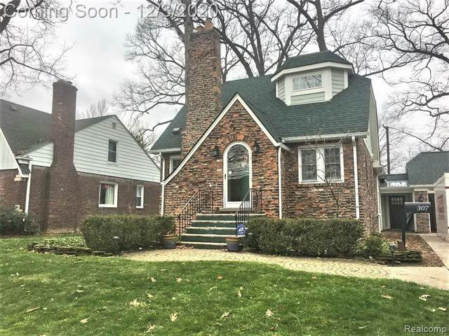 307 N Connecticut Avenue, Royal Oak, MI 48067 (#2200096670) :: Robert E Smith Realty