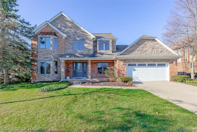 5175 Spring Meadows Drive, Troy, MI 48085 (#2200096723) :: The Alex Nugent Team | Real Estate One