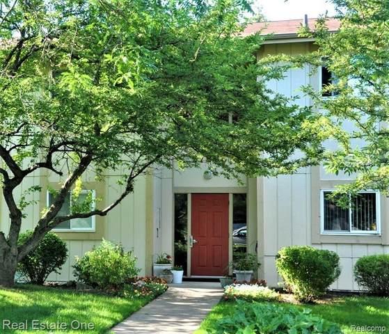 27895 Berrywood Ln Unit 78, Farmington Hills, MI 48334 (#2200096792) :: Novak & Associates