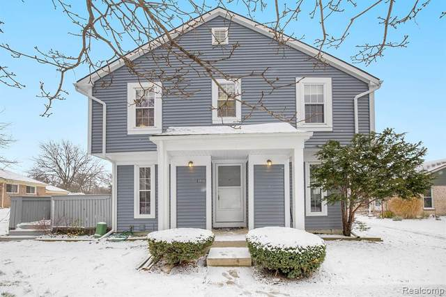 2812 Bombridge Court, Ann Arbor, MI 48104 (#2200096809) :: The Alex Nugent Team | Real Estate One