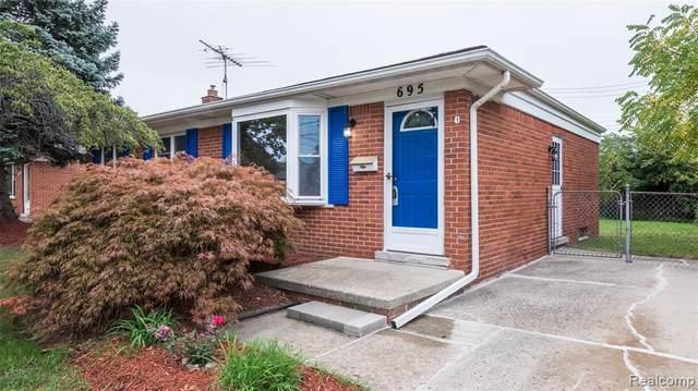 695 Byron St, Plymouth, MI 48170 (#2200096960) :: Duneske Real Estate Advisors