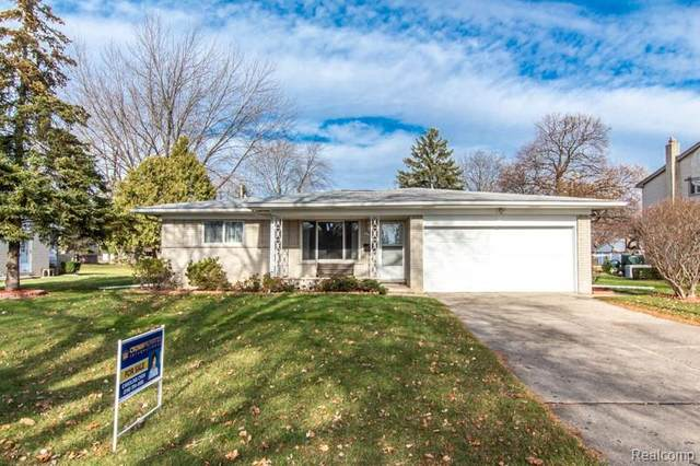 1161 Mayberry Drive, Troy, MI 48085 (#2200096988) :: Robert E Smith Realty