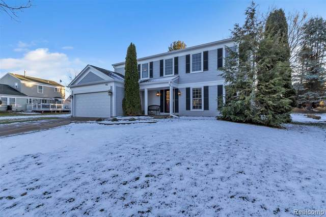 462 Whitney Drive, Rochester Hills, MI 48307 (#2200096992) :: The Alex Nugent Team | Real Estate One