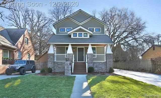 436 Detroit Ave, Royal Oak, MI 48073 (#2200097007) :: Robert E Smith Realty