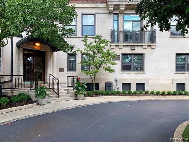 2900 E Jefferson Avenue D101, Detroit, MI 48207 (#2200097111) :: Duneske Real Estate Advisors