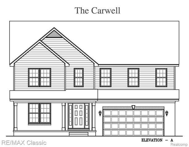 17808 Grassland Drive, Brownstown Twp, MI 48193 (#2200097187) :: The Mulvihill Group