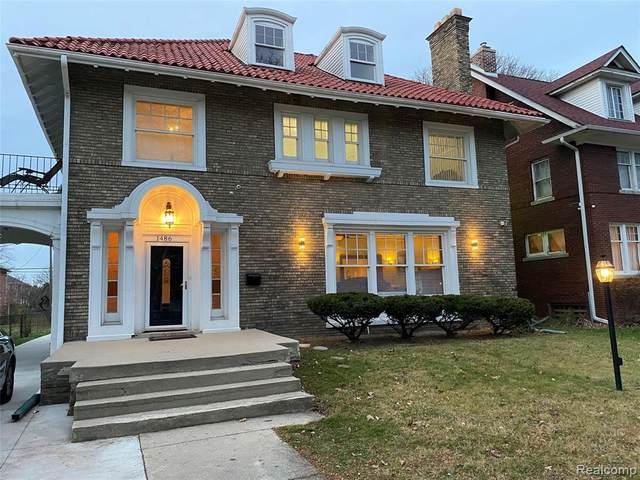 1486 W Boston Boulevard, Detroit, MI 48206 (#2200097209) :: Duneske Real Estate Advisors
