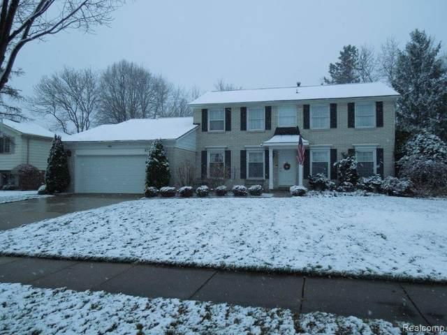 873 Bridge Park Drive, Troy, MI 48098 (#2200097337) :: The Alex Nugent Team | Real Estate One