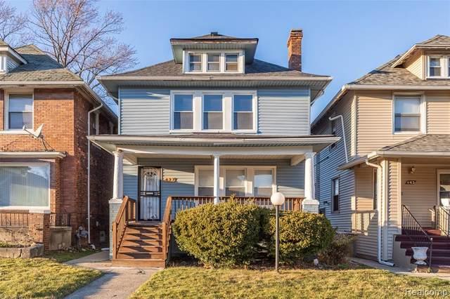 637 Alger Street, Detroit, MI 48202 (#2200097347) :: Duneske Real Estate Advisors
