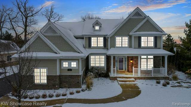 160 Hadsell Drive, Bloomfield Twp, MI 48302 (#2200097449) :: The Alex Nugent Team | Real Estate One
