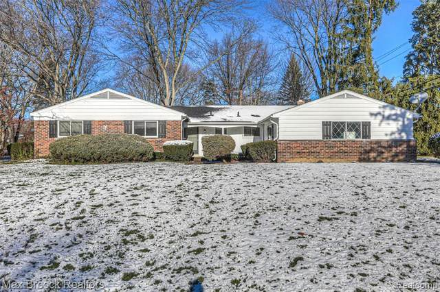 2508 Oxford Drive, Troy, MI 48084 (#2200097610) :: The Alex Nugent Team | Real Estate One
