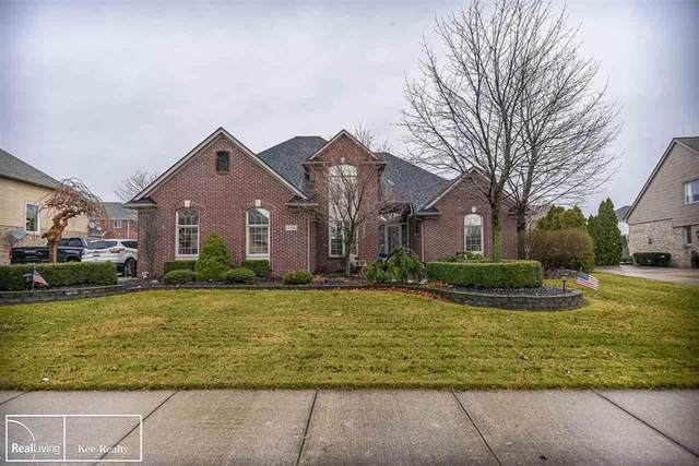 42608 Saddle Lane, Sterling Heights, MI 48314 (#58050029996) :: The Mulvihill Group
