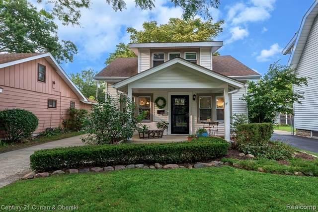 523 E Farnum Avenue, Royal Oak, MI 48067 (#2200097713) :: The Alex Nugent Team | Real Estate One