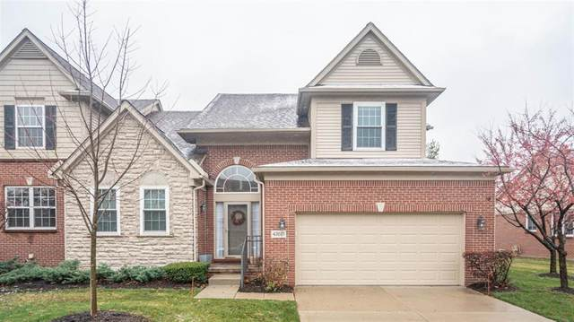 47621 Scenic Circle Drive, Canton Twp, MI 48188 (#543277841) :: The Alex Nugent Team | Real Estate One