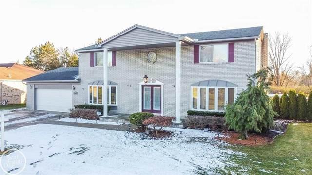 13346 Parkridge, Shelby Twp, MI 48315 (#58050030074) :: The Alex Nugent Team | Real Estate One