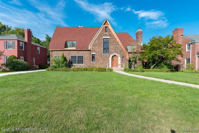 775 Berkshire Road, Grosse Pointe Park, MI 48230 (#2200098071) :: The Mulvihill Group