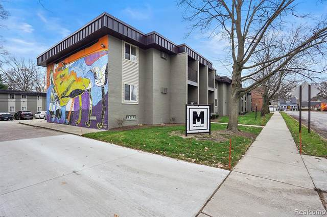 455 W Marshall St Apt 101, Ferndale, MI 48220 (#2200098502) :: The Alex Nugent Team | Real Estate One