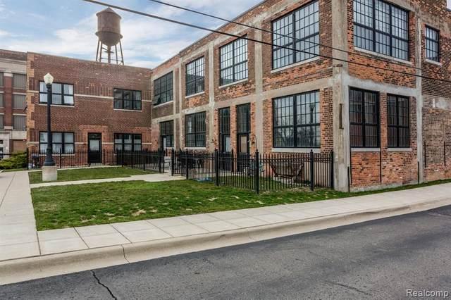 5766 Trumbull St #110, Detroit, MI 48208 (#2200098813) :: The Alex Nugent Team | Real Estate One