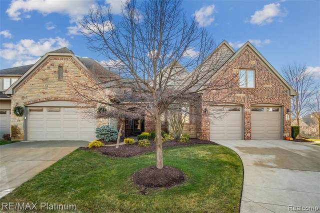 10782 Sparkling Waters Court, Green Oak Twp, MI 48178 (#2200099094) :: The Mulvihill Group