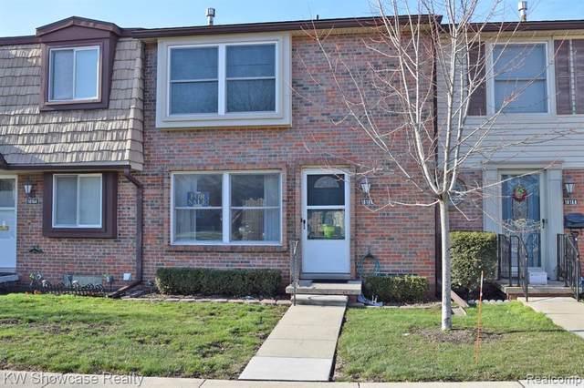 18166 Jamestown Circle, Northville Twp, MI 48168 (#2200099556) :: The Alex Nugent Team | Real Estate One