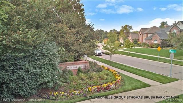 LOT 10 Brush Park Court, Novi, MI 48377 (#2200099688) :: GK Real Estate Team