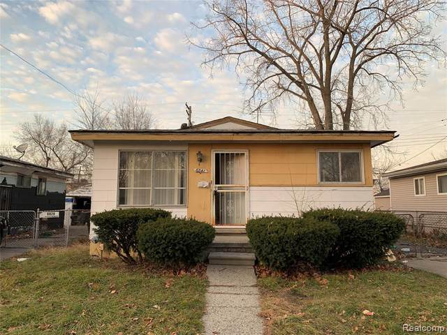 6841 Edgeton Street, Detroit, MI 48212 (#2200099824) :: The Alex Nugent Team | Real Estate One