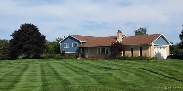 7375 Tubspring Road, Almont Twp, MI 48003 (#2200100120) :: Robert E Smith Realty