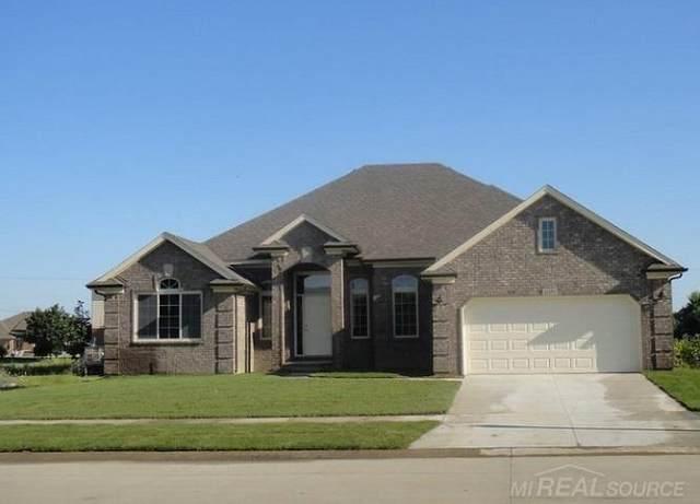 12185 East Ridge Drive, Bruce Twp, MI 48065 (#58050030779) :: The Alex Nugent Team   Real Estate One