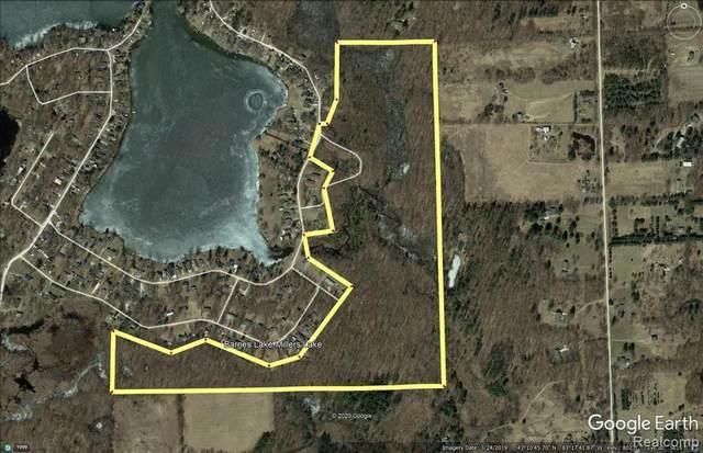 60 acres Lakeshore Drive, Deerfield Twp, MI 48421 (#2200100816) :: BestMichiganHouses.com